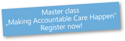 Master class - Register now!